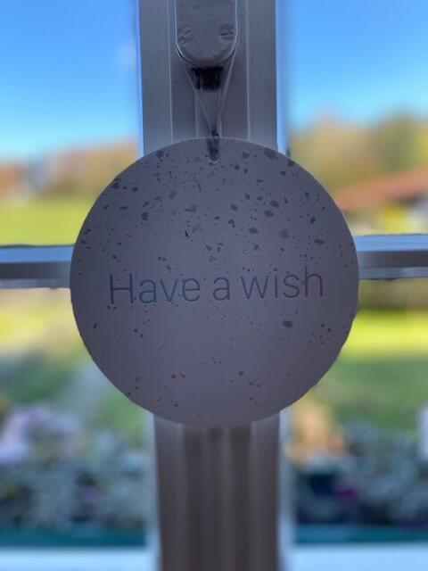 Schild-Fenster-Have a wish-Babywunsch-Fehler-schwanger werden-Beratung-Hilfe-schwanger werden mit 40